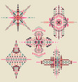 tribal ethnic ornament aztec decor vector image vector image