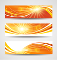 Autumn banners set vector image
