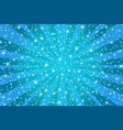 blue christmas background with stars vector image vector image