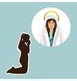 catholic religion design vector image vector image