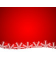christmas shiny background with snowflakes vector image vector image