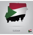 country sudan vector image