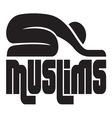 islam muslims1 resize vector image