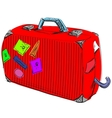 Journey suitcase vector image vector image