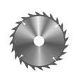 mechanical circular saw vector image
