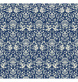 seamless victorian pattern vector image