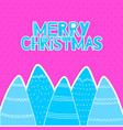 the christmas greeting card in scandinavian style vector image vector image