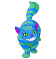 Walking Cheshire Cat vector image vector image