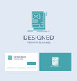 wire framing web layout development business logo vector image vector image