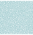 Polka dot background in vintage style vector image