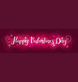 bright background for valentines day vector image