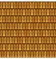 Golden wheat seamless pattern vector image vector image
