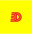 initial letter design logo template vector image