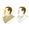 Kemal Ataturk vector image