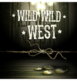 Wild west party design vector image vector image
