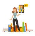 character women business professional studies vector image vector image