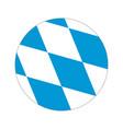 circular world flag vector image vector image