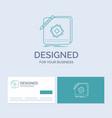design app logo application design business logo vector image vector image