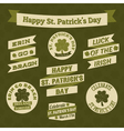 Stpatricks day design elements vector | Price: 3 Credits (USD $3)