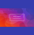 abstract modern trendy gradient background vector image vector image