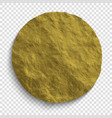 gold foil background vector image vector image