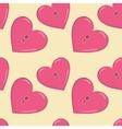 Heart and keys vector image
