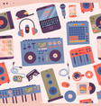 Hip hop or dj accessory musician instruments vector image