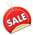 Sale Swing Tag vector image vector image