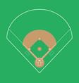 baseball field background eps vector image