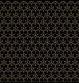 black and gold linear luxury background vector image vector image