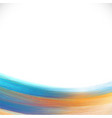 brush paint colorful background brush stroke vector image