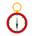 compass aventure object to geography direction vector image vector image