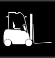 electric loader icon vector image