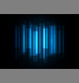 fade speed bar overlap in dark background vector image