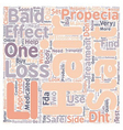 Propecia the Queen of Hair Loss Treatment text vector image vector image