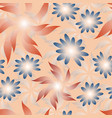 seamless floral pattern with abstract vector image