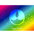 seasonal diwali festival vector image vector image