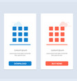 web grid shape squares blue and red download and vector image