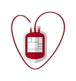 Blood Bag flat icon vector image