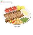 Chelow Kabab The National Dish of Iran