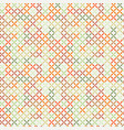 cross stitch seamless pattern vector image