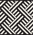 hand drawn seamless repeating pattern with lines vector image vector image