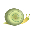 icon snail vector image vector image