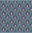 indian colorful rug paisley ornament pattern vector image vector image