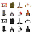 oil and gas sign vector image