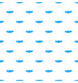 small wave icon simple style vector image vector image