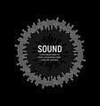 soundtrack playback music record vector image