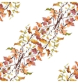 Watercolor seamless pattern on white background