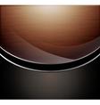 Wooden polished background vector image