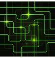 Circuit Electric Board abstract background vector image vector image